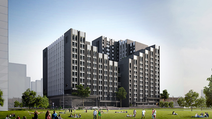 景典装配式建筑助力广西建设职业技术学院新校区建造