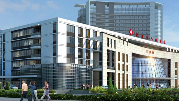 梧州市人民医院钢结构幕墙工程