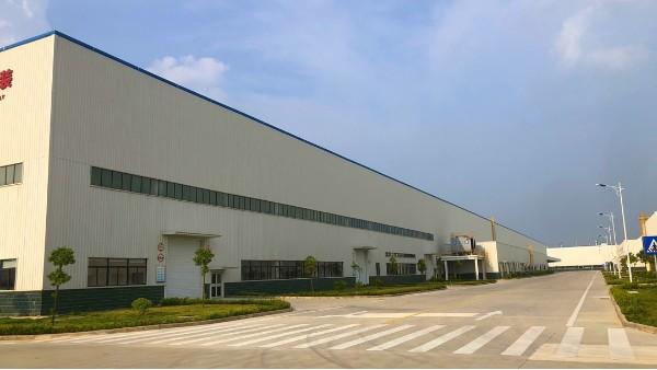 景典钢构参建的玉柴纯电动商用车总装车间竣工投产