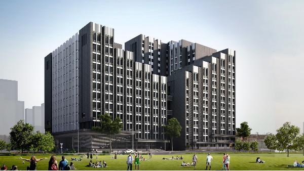 广西建设职业技术学院新校区二期教学楼和学生宿舍工程