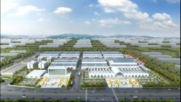 厉兵秣马齐战斗,广西北部湾国际生鲜冷链园区钢结构工程进入冲刺阶段