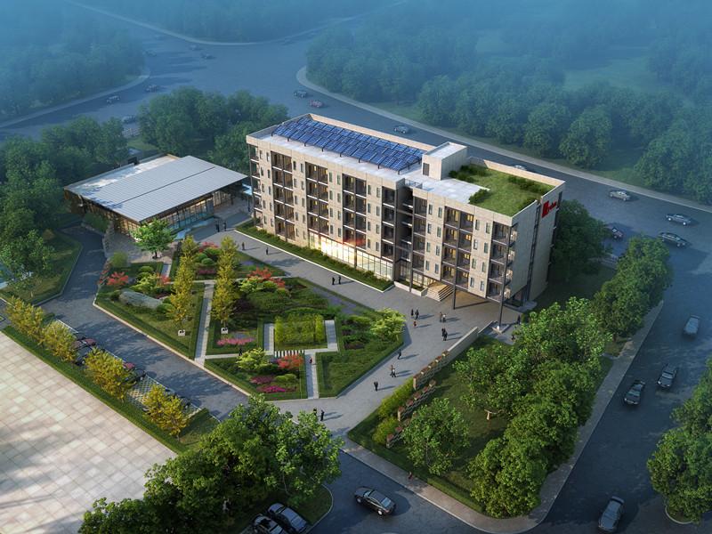 景典装配式建筑产业基地1号实验楼项目