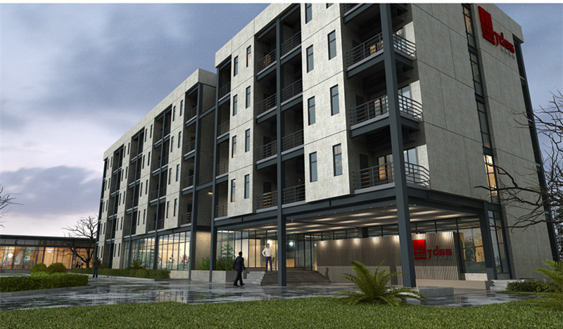 景典装配式建筑产业基地1号实验楼项目04