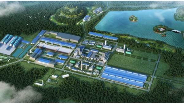 南国铜业一期30万吨铜项目顺利建成, 景典公司参与钢结构工程建设