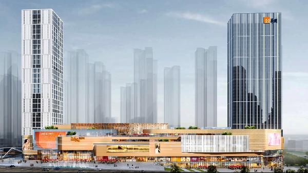 """景典""""质""""造城市万象,贵阳华润国际社区万象汇钢结构工程"""