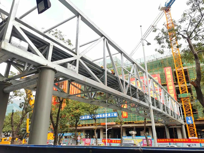金城商厦天桥2